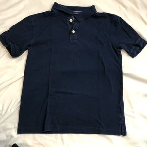 👕 Children's Place navy blue polo shirt boys lrg